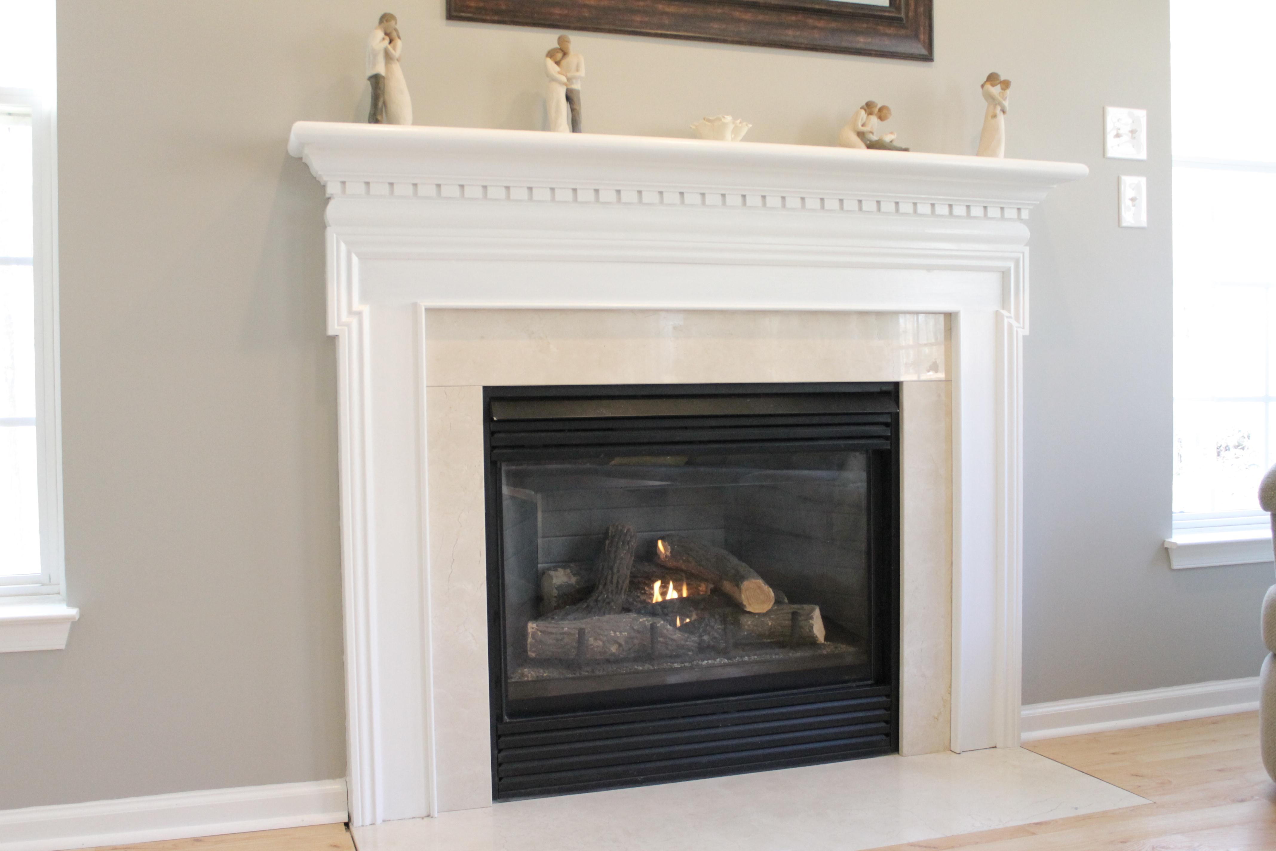 Fireplace Update Serene Home Staging